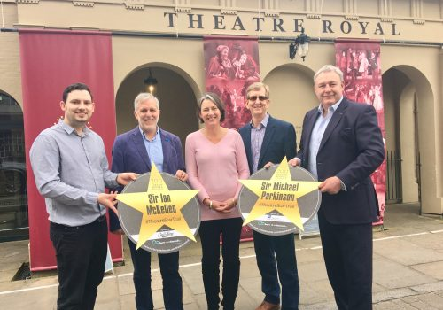 World Theatre Day launch for New Theatre Royal Star Trail
