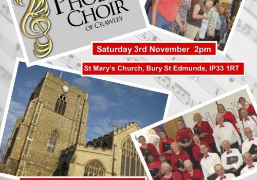 Phoenix Choir of Crawley at St Mary's Church