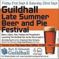 Guildhall Beer & Pie Festival - September 21 & 22