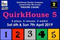 Quirkhouse 5 - theatre crawl