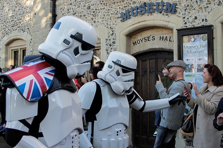 Bury St Edmunds Science Fiction and Action Festival 21 Oct - 26 Nov