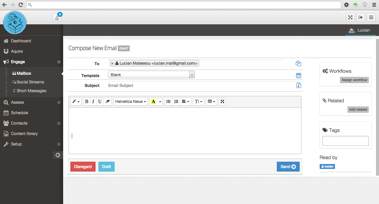 Integrate transactional email, workflows and drip programs