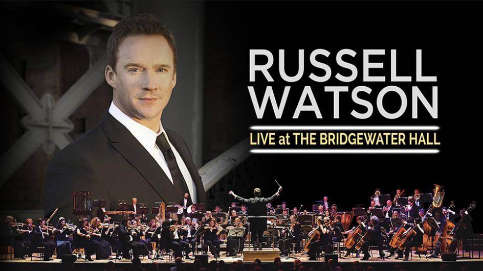 The Bridgewater Hall - Russell Watson February 2019