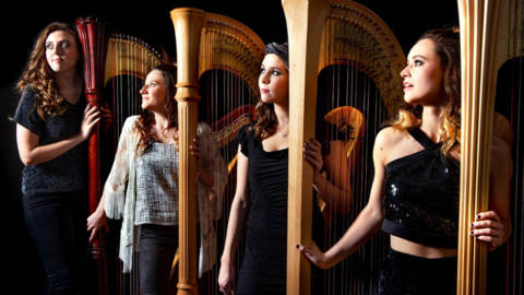 The-Bridgewater-Hall-Manchester-Middays-19-20-Clouds-Harp-Quartet