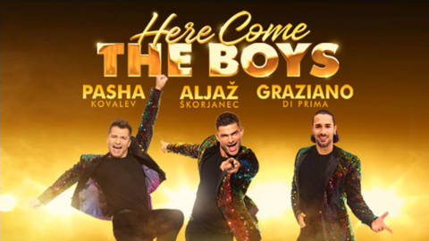 Here Come the Boys - 6 July 2021 - The Bridgewater Hall