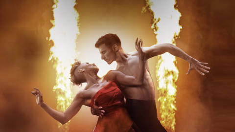 Firedance with Karen Hauer and Gorka Marquez