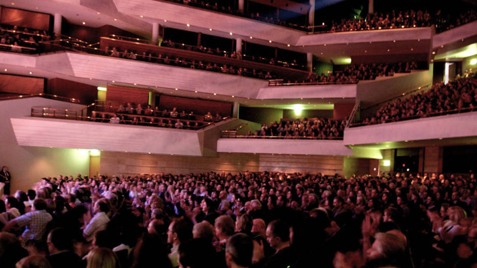 Bridgewater Hall - full auditorium - William Ellis