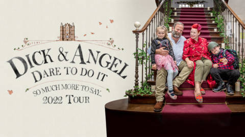 Dick and Angel - Dare to Do It - March 2022 - The Bridgewater Hall