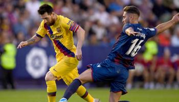 FC Barcelona – Levante: Levante verloor zijn 3 laatste wedstrijden allemaal