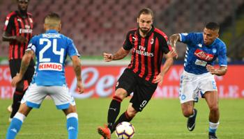 Milan AC – SSC Naples : duel au sommet