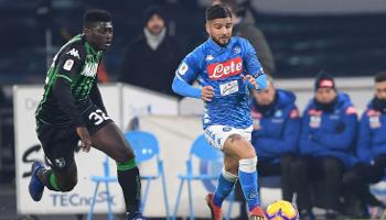 Sassuolo – Napoli: een gemakkelijke overwinning voor Mertens en zijn ploegmaten?