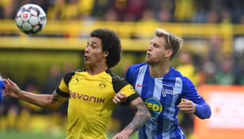 Hertha – Dortmund: blijft Dortmund aan de leiding in de Bundesliga?