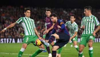 Real Betis – FC Barcelona: een vijfde overwinning op rij voor de Catalanen?
