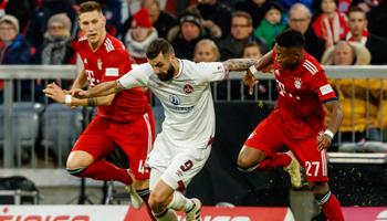Nürnberg – Bayern: verstevigt Bayern zijn leiderspositie?