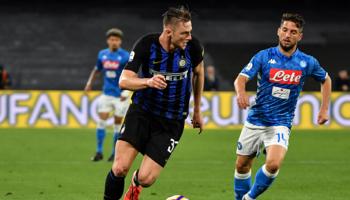 Napoli – Inter Milaan: gaat Inter als leider het nieuwe jaar in?