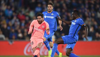 FC Barcelona-Getafe: de druk ligt op de schouders van Getafe