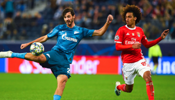 Benfica – Zenit: Benfica heeft nog een waterkansje om zich te plaatsen