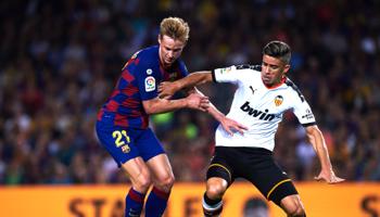 Valencia – FC Barcelona: blijft Barcelona (gedeeld) aan de leiding staan?