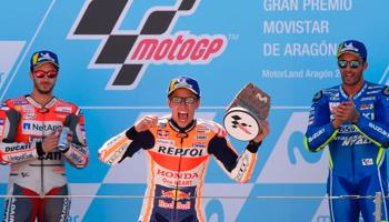 MotoGP van Aragón: een vierde overwinning op rij in Aragón voor Marc Márquez?