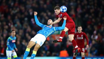 Naples – Liverpool : les Reds au sommet de leur forme
