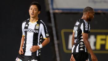 Cercle Brugge-Charleroi: de Zebra's zijn favoriet