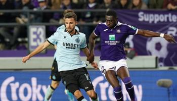 Cercle Brugge – Anderlecht: de noteringen zijn in het voordeel van Anderlecht