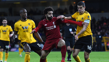 Wolverhampton – Liverpool: Liverpool is nog steeds ongeslagen in de competitie