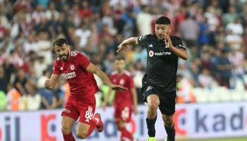 Besiktas – Sivasspor : avantage à l'équipe de Sivas lors des derniers face-à-face