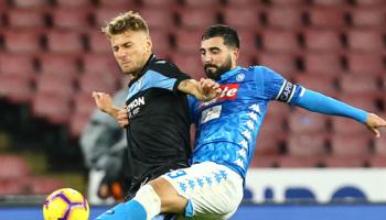 Lazio Rome – SSC Naples : les Romains invaincus en championnat depuis la 5ème journée