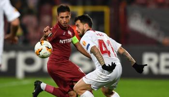 FC Séville – CFR Cluj : les Espagnols ont été tenus en échec à l'aller