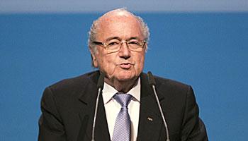 Joseph Blatter spaltet die Fußball-Welt