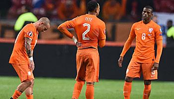 Nach Holland-Aus: Weitere Blamagen in der Qualifikation