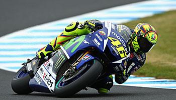 MotoGP: Rekord-Rennen für Valentino Rossi