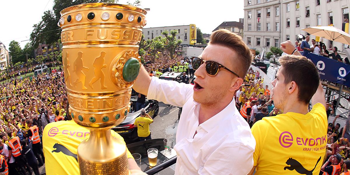 Der Pokalsieg ist der erste große Titel in seiner Karriere