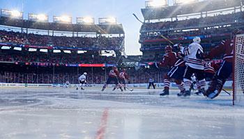 Der NHL Winter Classic zieht alle Blicke auf sich