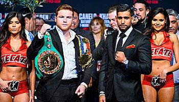Boxen: Saul Alvarez ist der Favorit im Kampf gegen Amir Khan