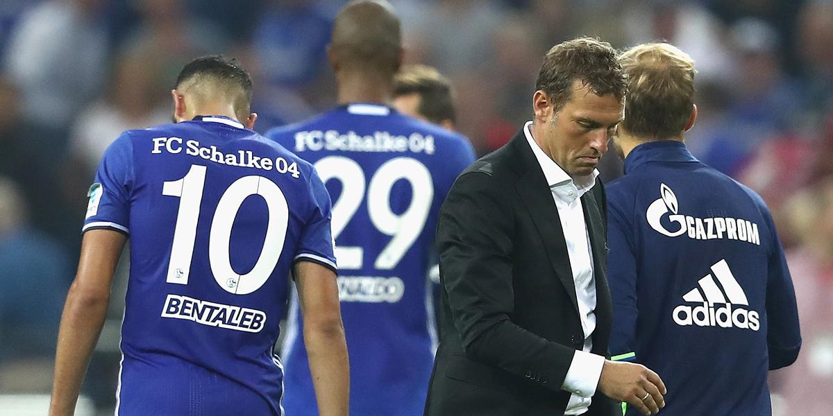 Trainer Markus Weinzierl ist ratlos