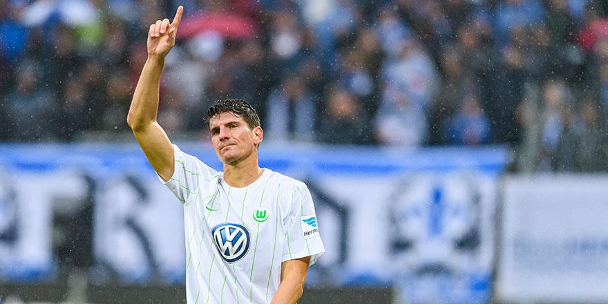 Der Wolf Gomez schnappt gegen Leverkusen gerne zu