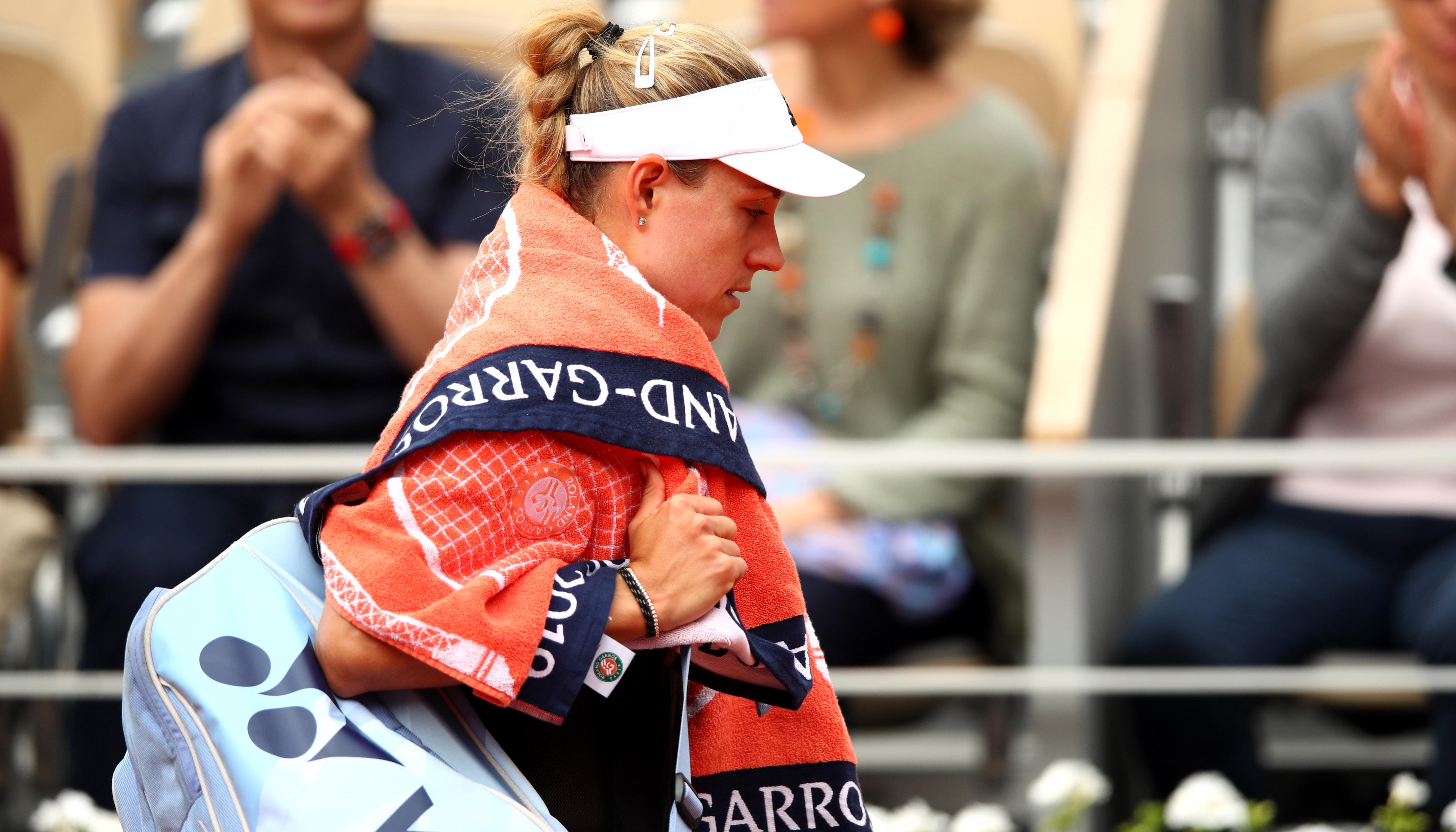 French Open: Es droht ein deutsches Damen-Debakel