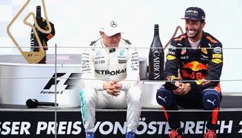 Formel 1: Rennvorschau & Wetten für den GP von Österreich