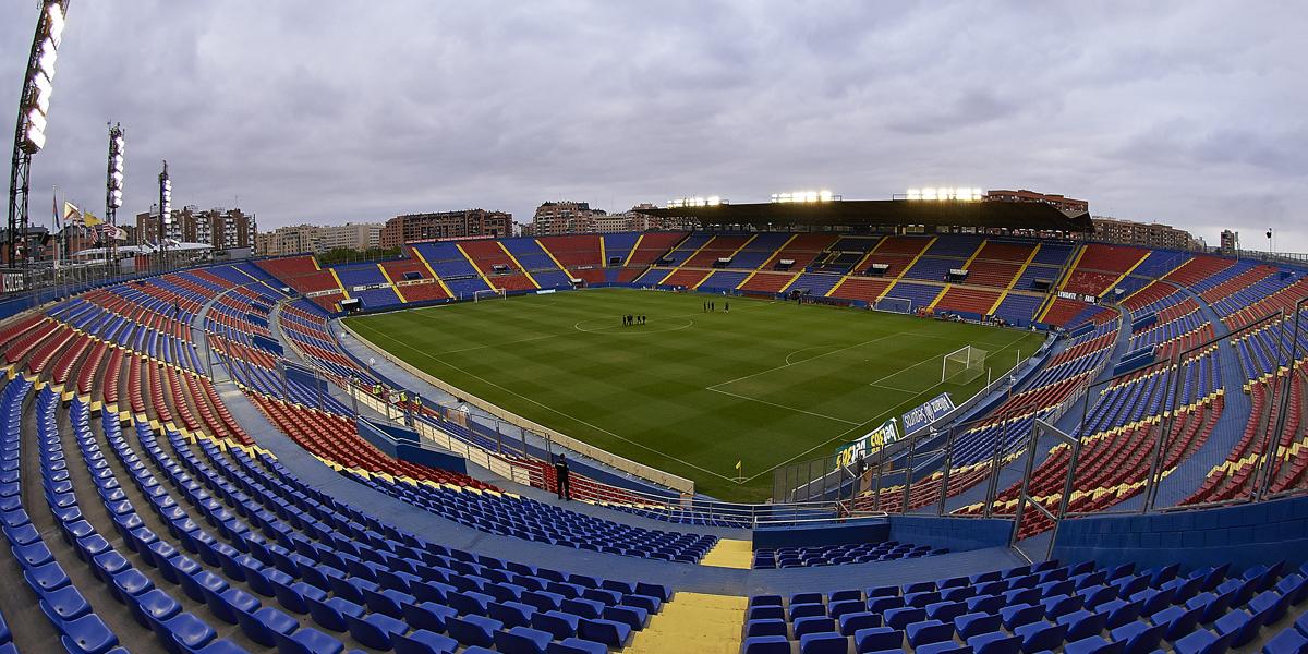 Das Stadion von Aufsteiger UD Levante