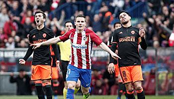 Atletico Madrid – FC Valencia: Beide wollen Real auf Abstand halten