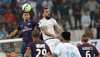 Paris St. Germain – Olympique Marseille: Mehr Schein als Sein
