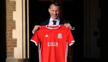 China vs Wales: Giggs fired up for first game in charge