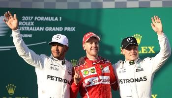 GP d'Australie F1 : pariez sur la saison 2018 de F1 qui démarre !