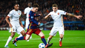Rome – Barcelone : première de deux confrontations italo-espagnoles !