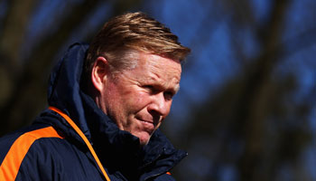 Holland vs England: Koeman keen to get off to flying start