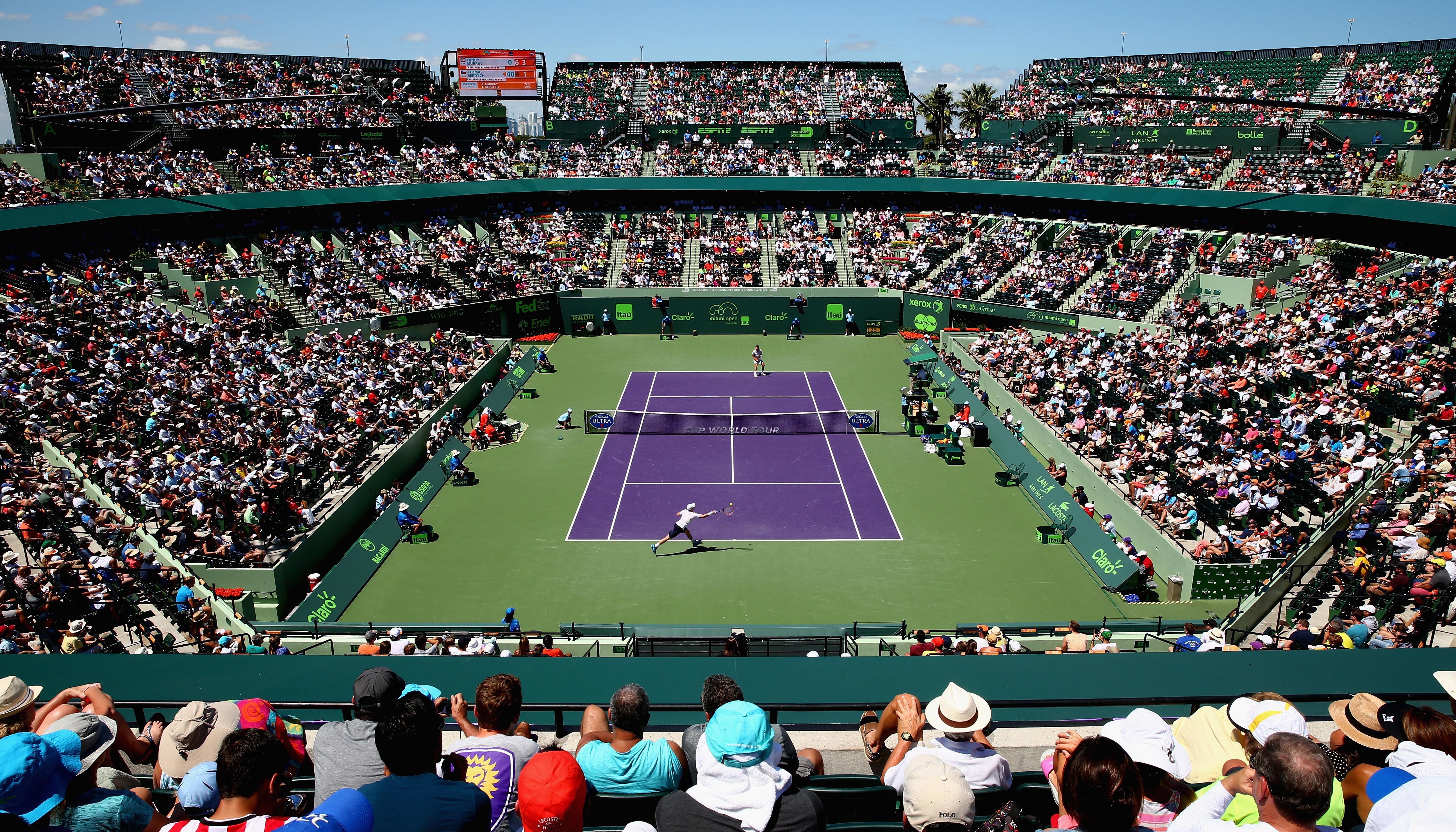 ATP Masters: Federer und Del Potro auch in Miami im Fokus