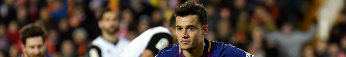 Philippe Coutinho features in our Man Utd transfer targets