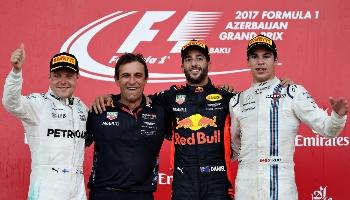 GP de F1 en Azerbaïdjan ; pariez sur une course folle comme l'an dernier
